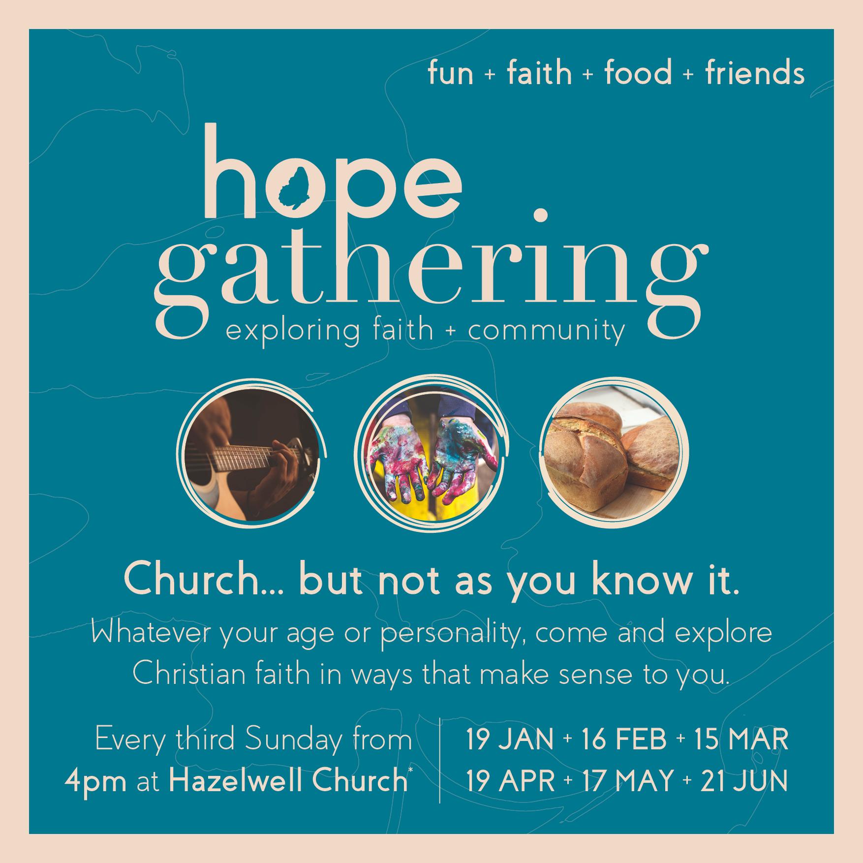 Hope Gathering - Flyer 2