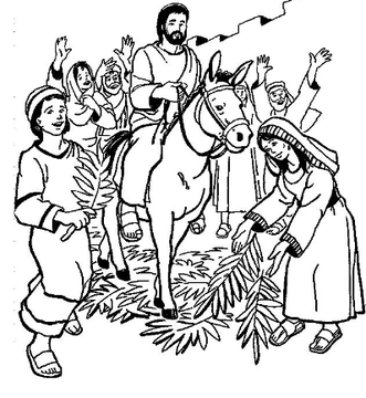On Line Contact Palm Sunday